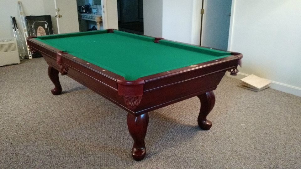 Connelly Durango Pool Table Shown In Spice Finish On Maple With