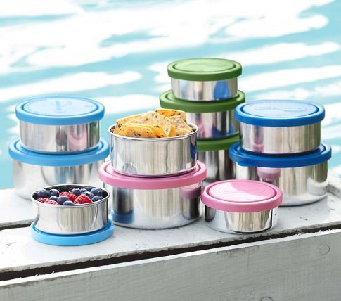 Stainless Nesting Trio Food Storage Containers Lunch