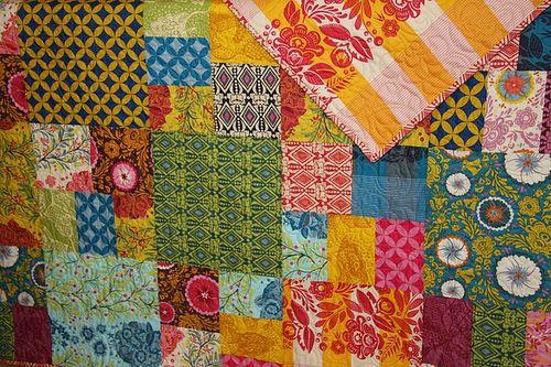 wedding quilt by Lanie Jane
