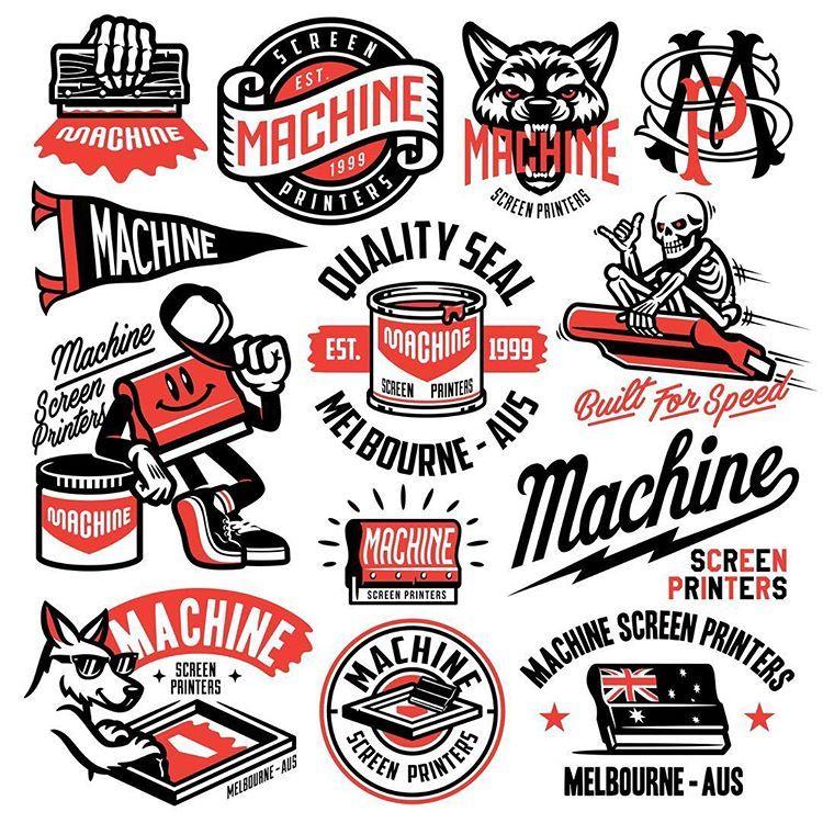 Daniel Chitu Danielgchitu Instagram Photos And Videos Screen Printing Designs Sticker Design Badge Design