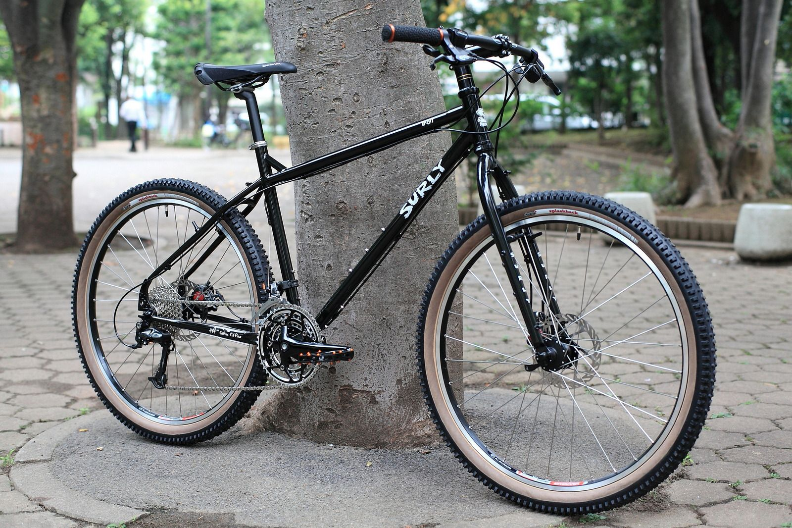 Surly Troll Mtb Black Bicycles
