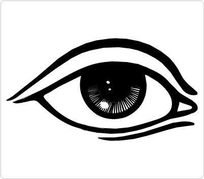Eyes human eye. Clip art clipart panda