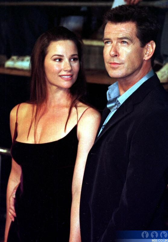 Pierce brosnan and wife keely shaye smith share an ...