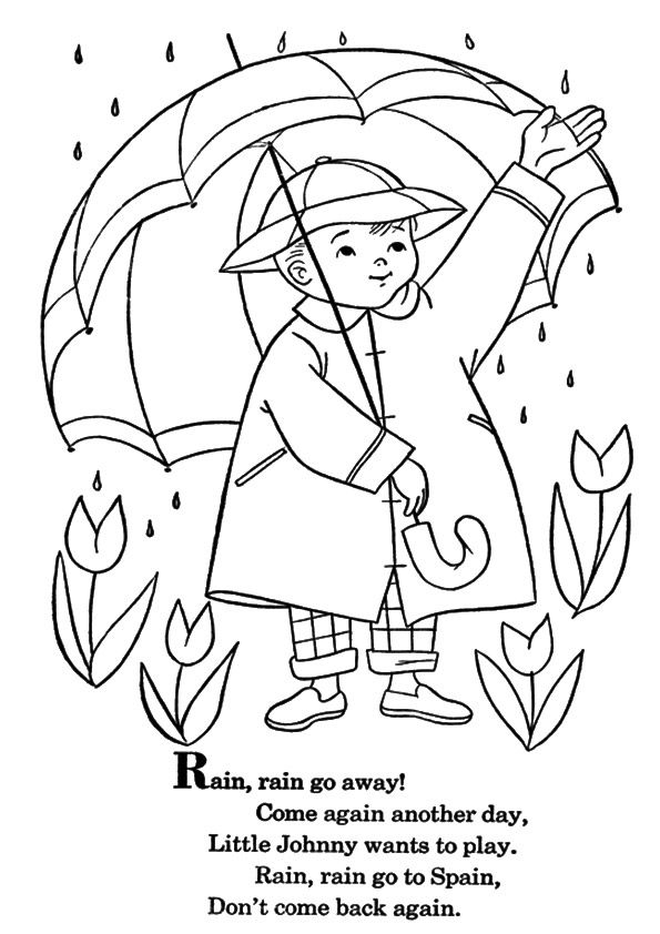 10 Amazing Weather Coloring Pages For Your Toddler Coloring