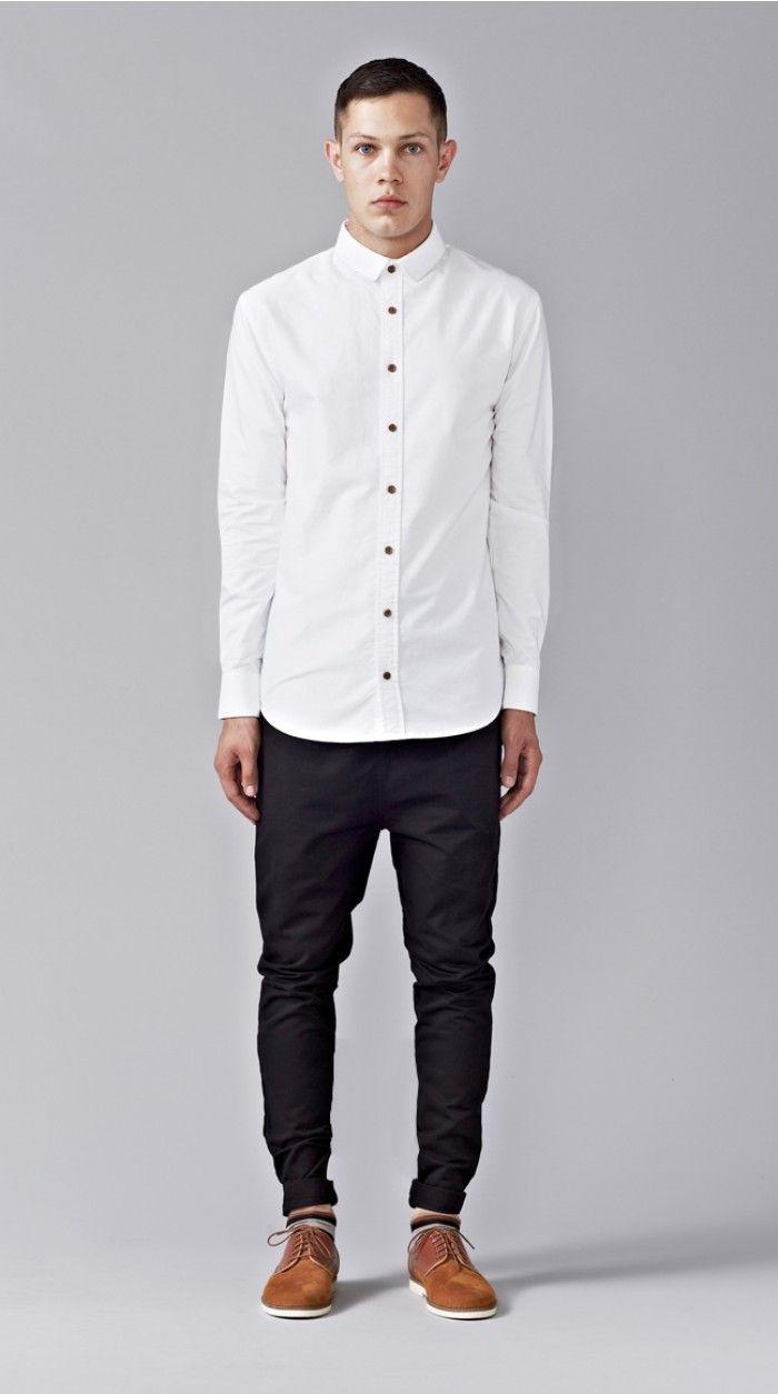Porn White shirt male