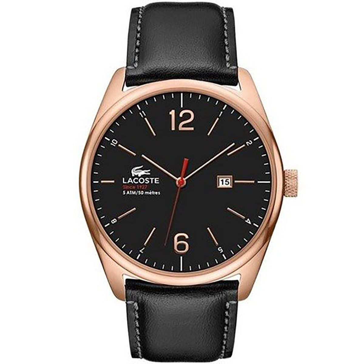 lacoste men s 2010747 austin red gold watch made in usa or lacoste men s 2010747 austin red gold watch made in usa or imported