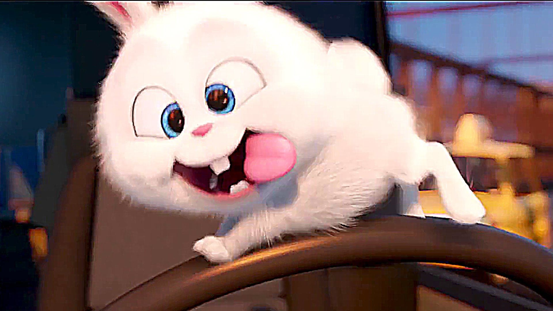 The Secret Life Of Pets Meet Quot Psycho Bunny Quot