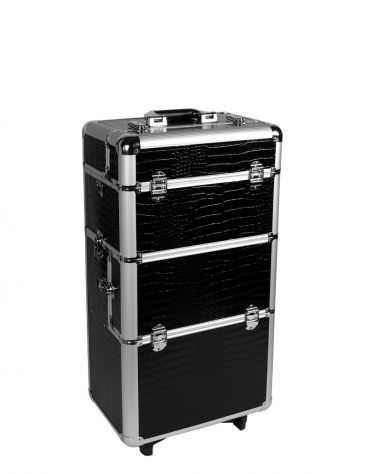 Our nail studio aluminum trolley offers you sufficient place for all your nail design utensils. You are no longer tied down, and can perform nail modeling anywhere you like! #nded #trolley #storage #nailart  www.nded.com