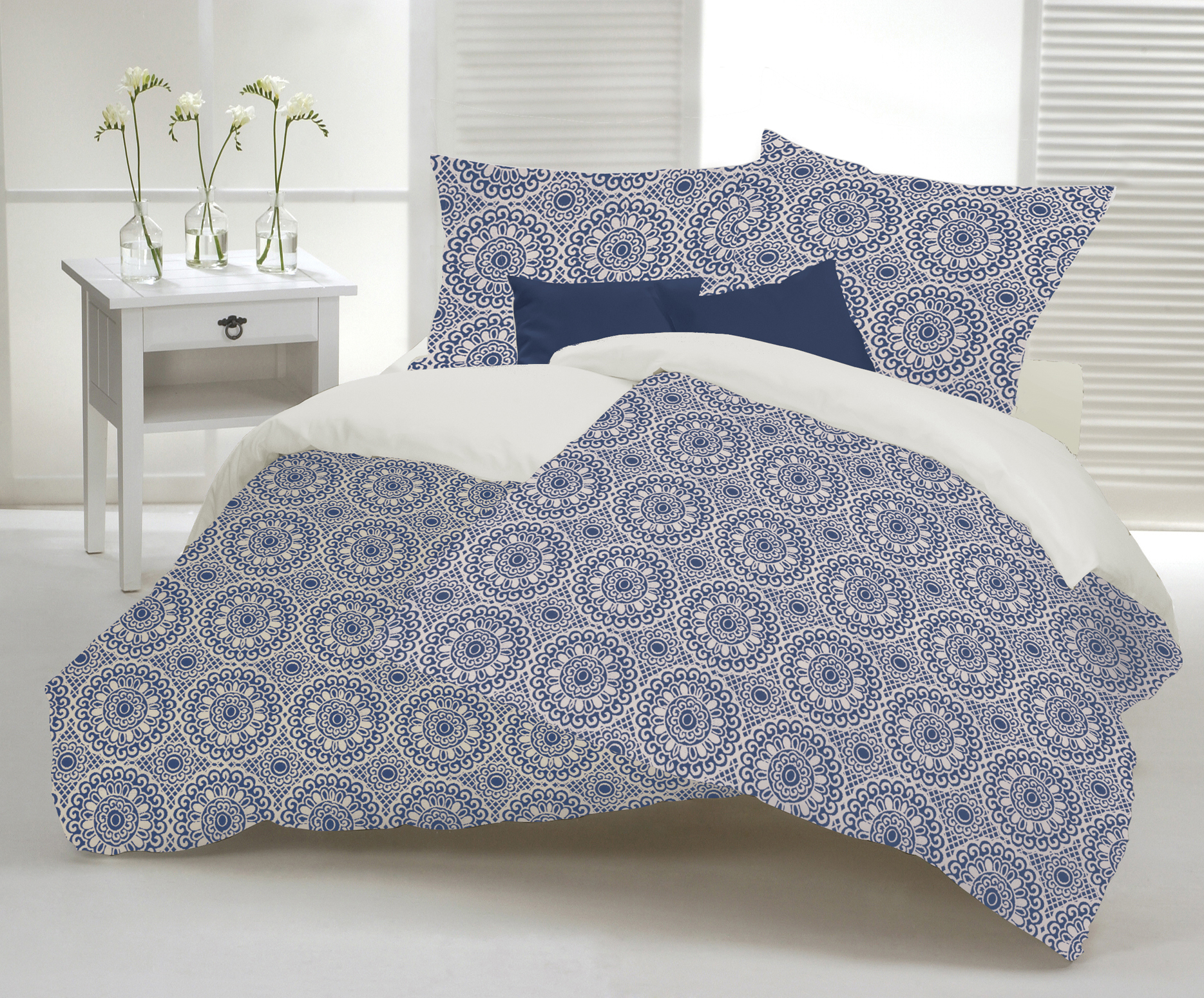 Duvet Cover Made In Canada Color Blue Steel Duvet Covers