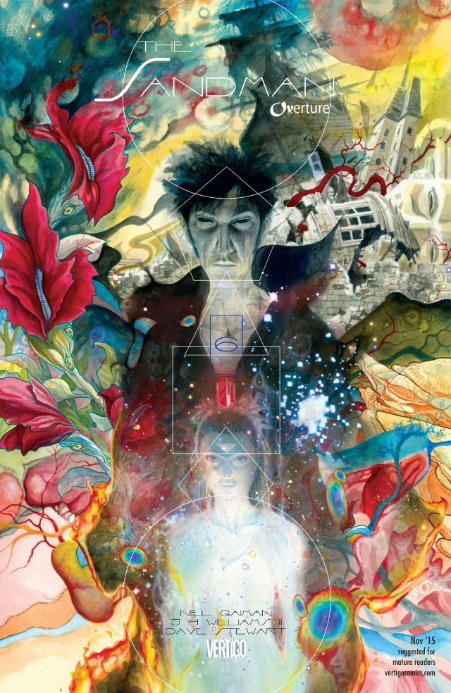 The Sandman: Overture (2013) #6 #Vertigo #DC #TheSandman #Overture (Cover Artist: J.H. Williams III) Release Date: 9/30/2015