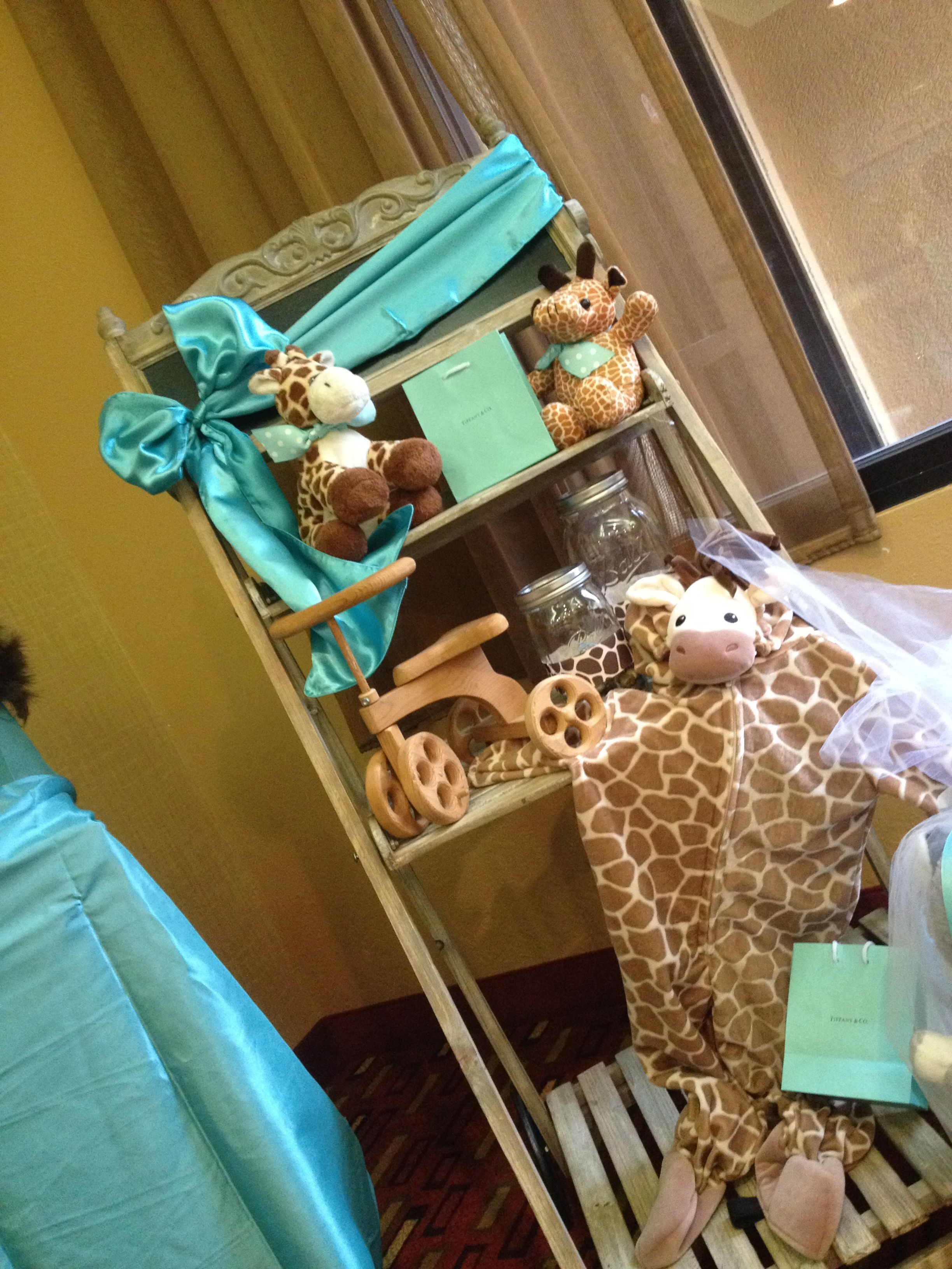 Tiffany & Co. Inspired Baby Shower with a Touch of Giraffe Print