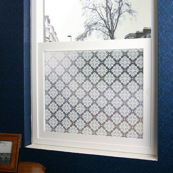 Damask privacy window film
