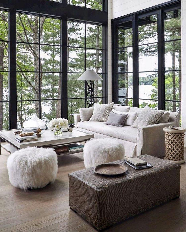 Photo of Hvem vil ikke lese i sofaen med denne utsikten ?! #interiordesign #designi … – Home Decors Ideas 2020