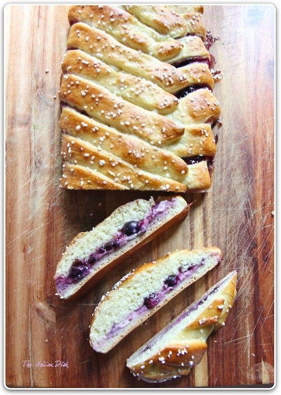 Blueberry Walkaway for breakfast - heavenly.