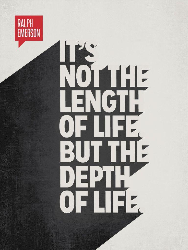 Poster design quotes - Ralph Waldo Emerson Minimalist Poster Quote
