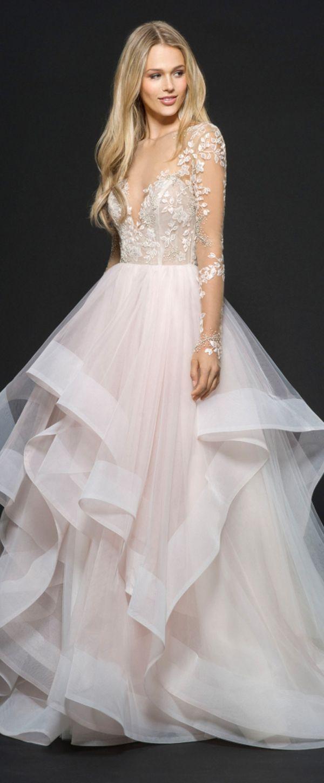 Fabulous tulle u satin bateau neckline aline wedding dresses with