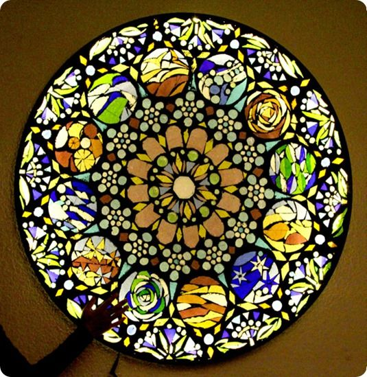 Stained Glass Mosaic Wall Art   Mosaic & Stained Glass   Pinterest ...