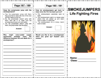 Smokejumpers Life Fighting Fires 4th Grade Reading Street Reading Street Expository Text 4th Grade Reading