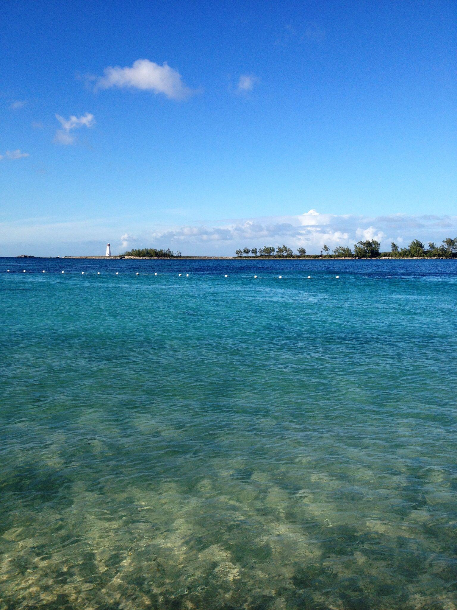 I also traveled to Nassau, Bahamas!