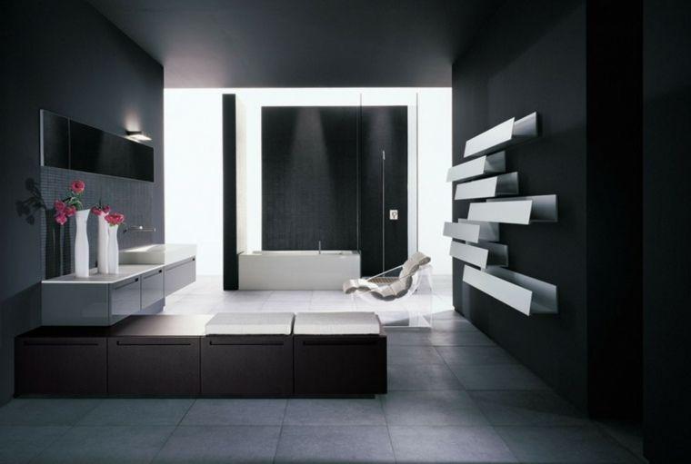 Badezimmer minimalistischen Stil, Reinheit und Zen Bad Pinterest - bad spiegel high tech produkt badezimmer