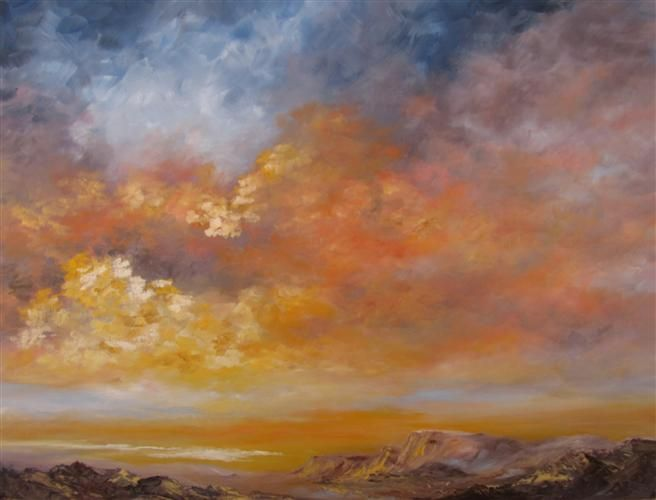 Original art for sale at UGallery.com | Serenity by Cyndy Carstens | $1,800 | oil painting | 18 h x 24 w | http://www.ugallery.com/oil-painting-serenity-25305