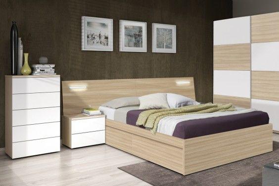 Dormitorio matrimonio DREAMS Leds | Dormitorio cama grande ...