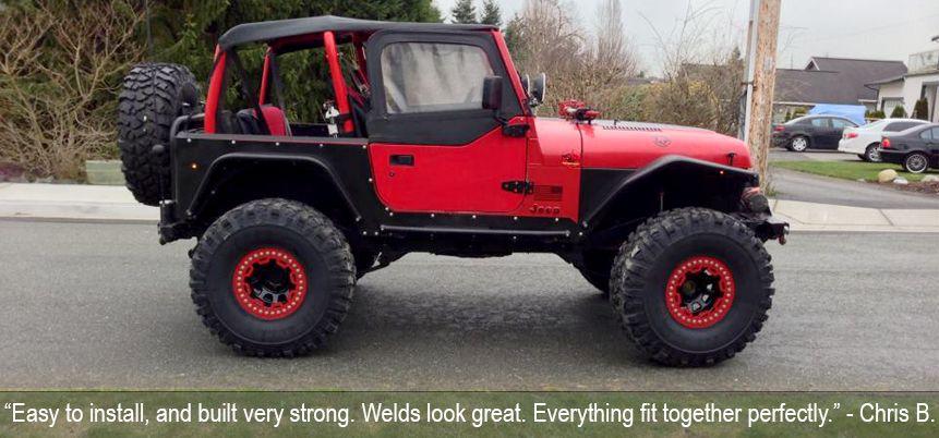 Yj Fenders Jeep Wrangler Jeep Yj Jeep Wrangler Yj