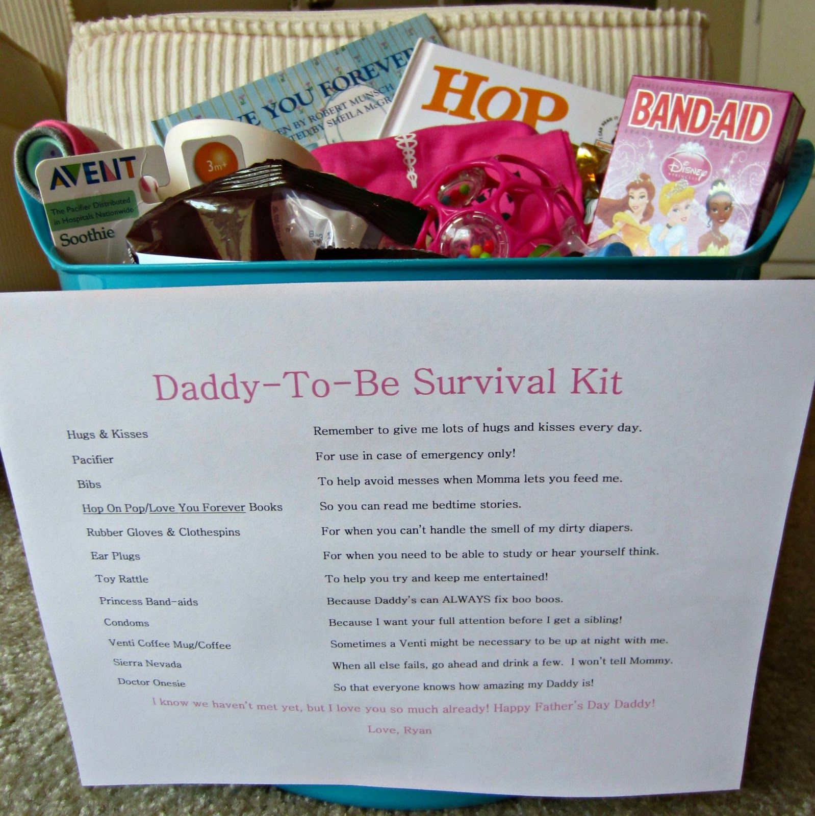 The Scurlock Scene Daddy To Be Survival Kit Products I