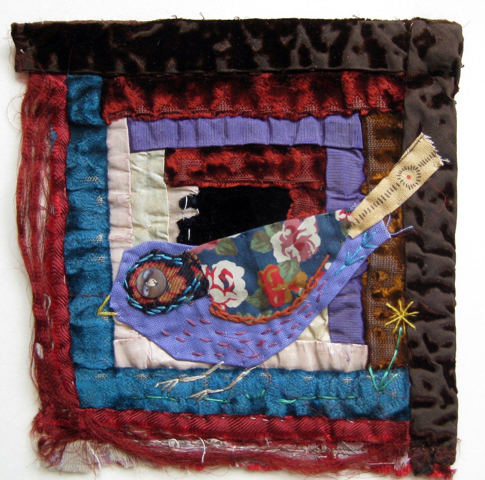 Quilt block #appliqué. thread and thrift Admire her work ... : quilt show nec - Adamdwight.com