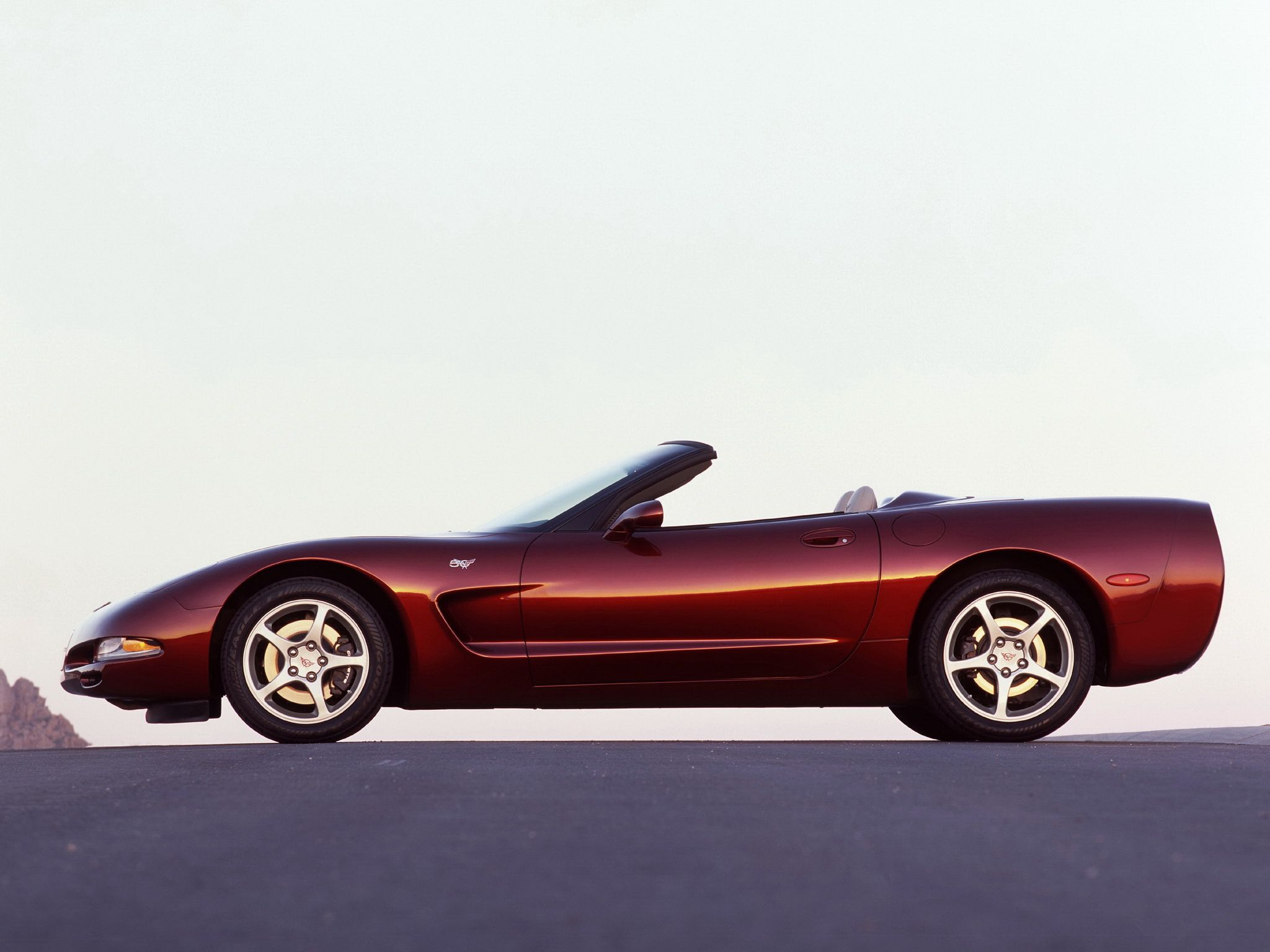 Chevrolet Corvette Convertible 50th Anniversary C5 2002 03 シボレー コルベット コルベット