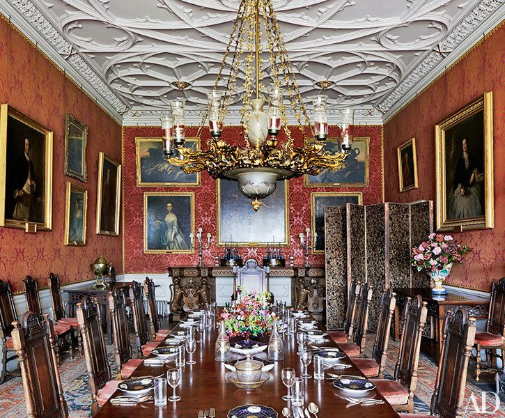 Ireland's Historic Birr Castle Receives A Chic Makeover Prepossessing Dining Room Furniture Ireland Inspiration
