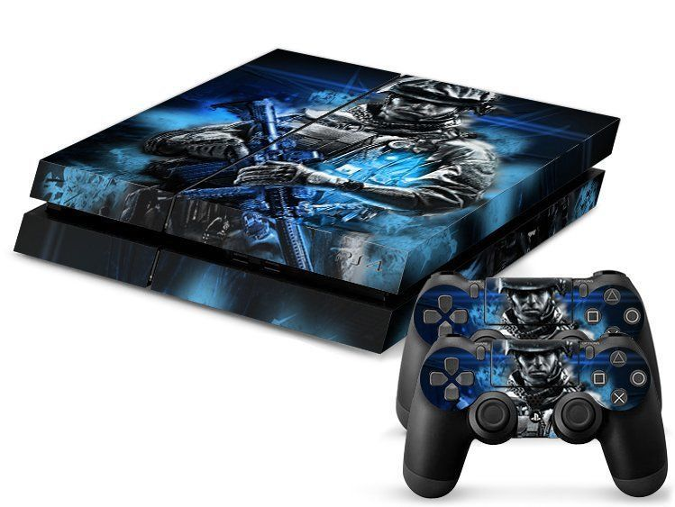 new game custom sticker for ps4 playstation 4 console 2 free controller skins new - Ps4 Video Games