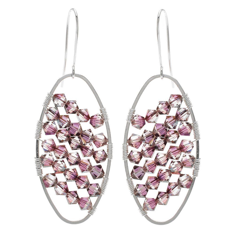 Tutorial - How to: Ricochet Earrings   Beadaholique   DIY ...
