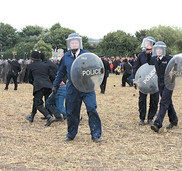 jeremy deller, mike figgle: The Battle of Orgreave   Turners
