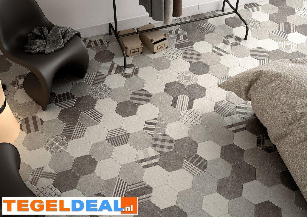 Badkamer Design Limburg : Tegels limburg vloertegel hexatile cement honingraat