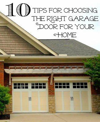 Garage Door Replacement 10 Tips For Making The Right Choice Garage Doors Garage Door Styles Garage Exterior