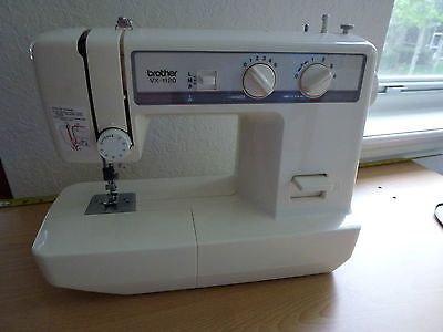 Brother Vx 1120 Sewing Machine With Foot Pedal