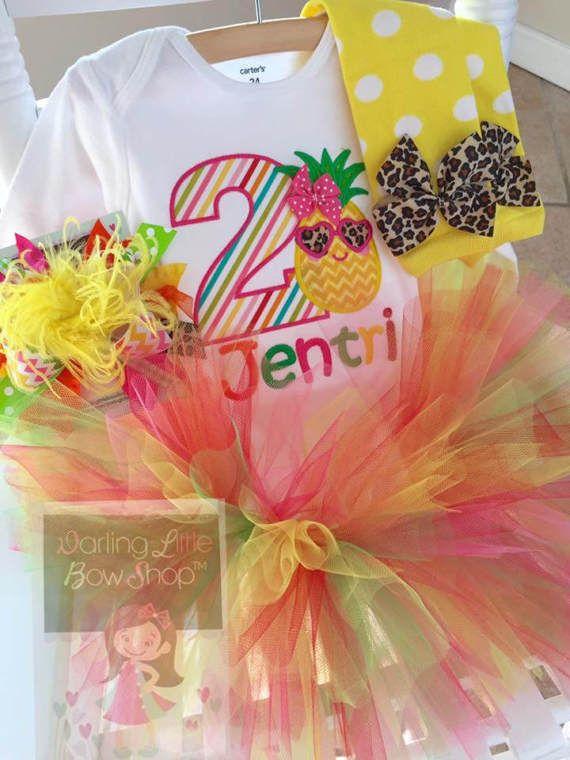 Tutti Frutti Birthday Outfit Twoti Fruitti By DarlingLittleBowShop