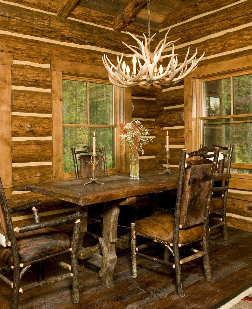 Log home interior ideas tetonheritagebuilders  cabins i can dream  pinterest