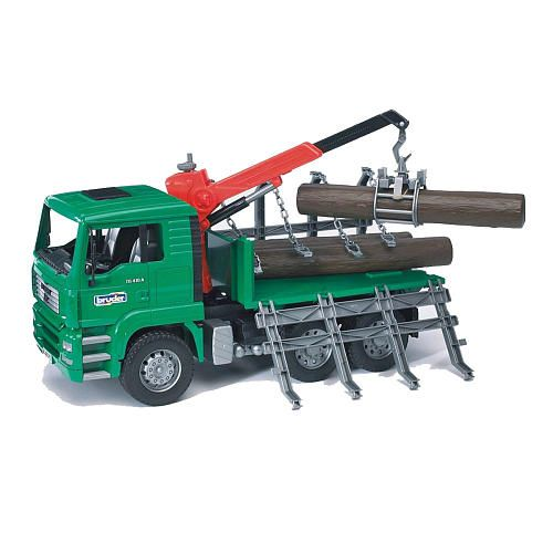 Bruder Man Timber Truck With Crane Toy Trucks Cool Toys Trucks