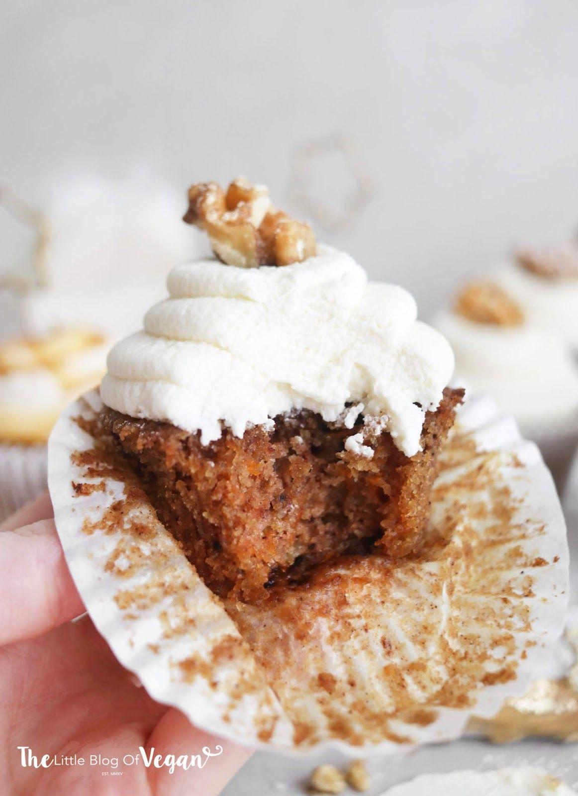 Glutenfree carrot cake cupcakes recipe Cupcake recipes