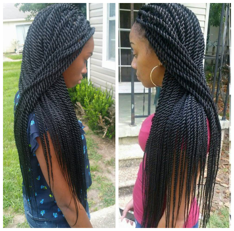 Rope twists by @braidsbyguvia - Rope Twist!! Very Neat Twist Pinterest Rope Twist And Hair Style