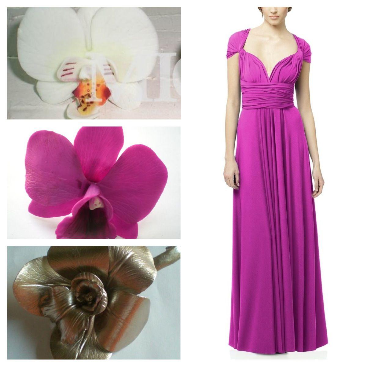 Para este vestido seleccioné 2 tocados fabulosos, uno color piuter y ...