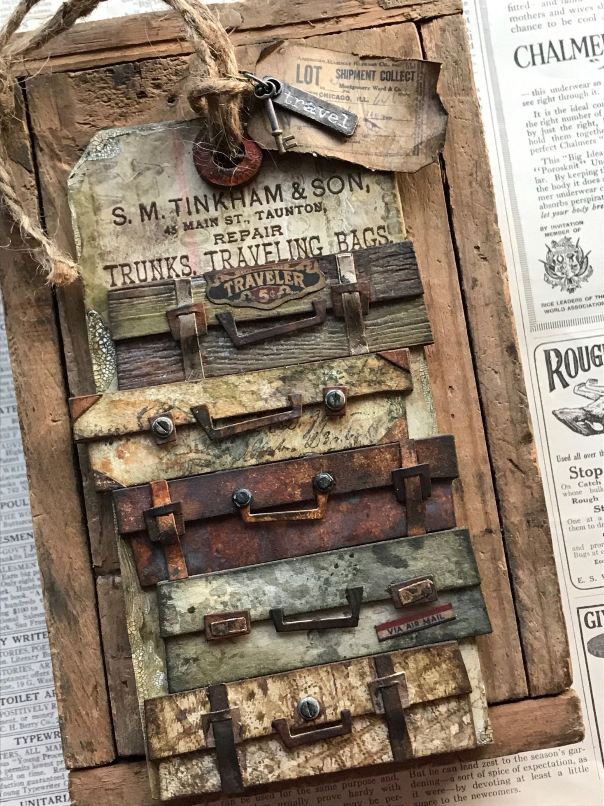 Pin on Tim Holtz