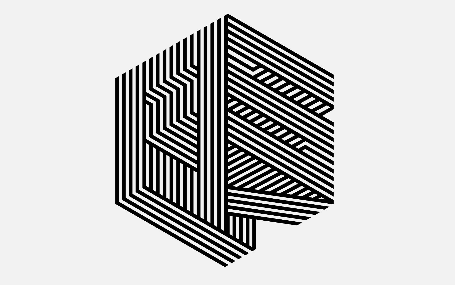 Wired Us Optical La Tigre Graphic Poster Optical Art Art Logo