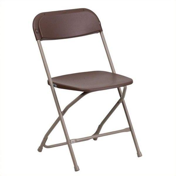 Flash Furniture Hercules Premium Plastic Folding Chair $27