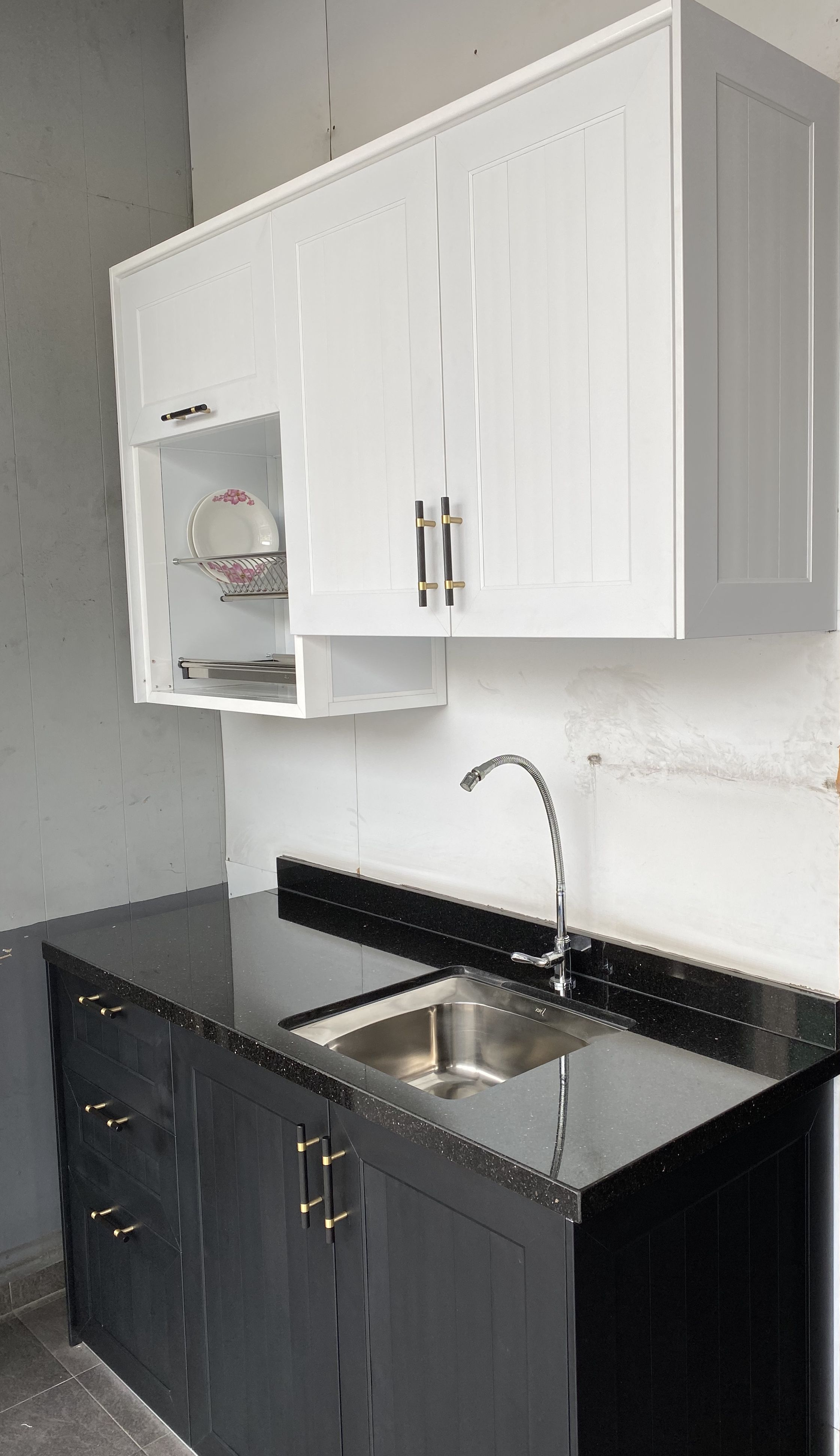 Scandinavian Aluminium Made Kitchen Cabinet Aluminum Kitchen Cabinets Kitchen Cabinets Painted Kitchen Cabinets Colors