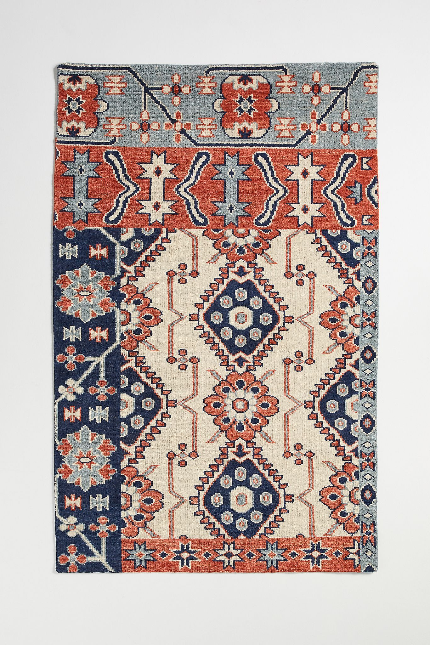 Hand Knotted Cyrus Rug Anthropologie In 2020 Rugs On Carpet Persian Style Rug Area Rug Pad