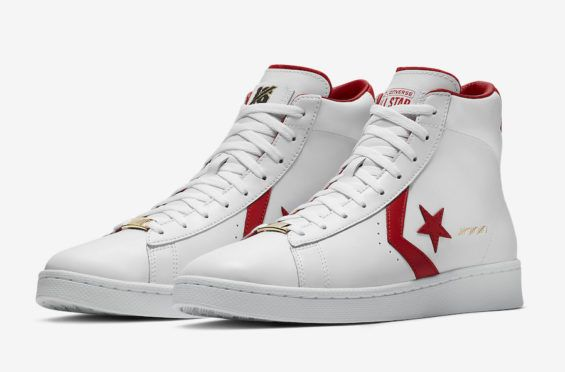 "1bfab65b5998 Release Date  Converse Pro Leather The Scoop Part of the Nike Basketball s  ""Art Of"