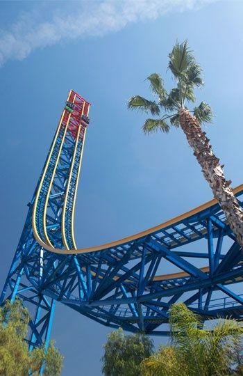 Travel Roller Coaster Amusement Park Rides Six Flags